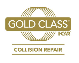 Ron's Collision Center is Gold Class Certified by I-CAR.