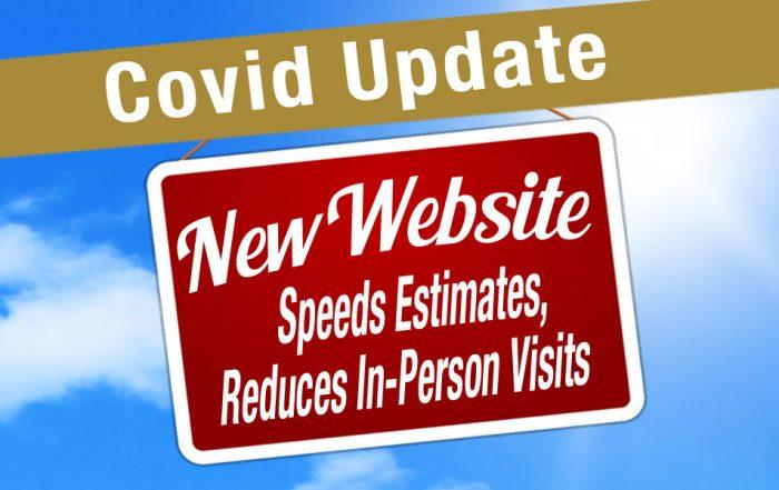 Covid Update - New Website