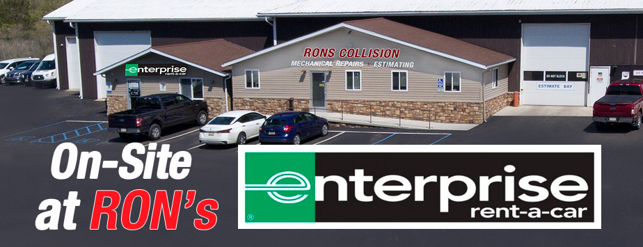 Enterprise Rent-A-Car on-Site at Ron's Collision Center, Somerset, PA