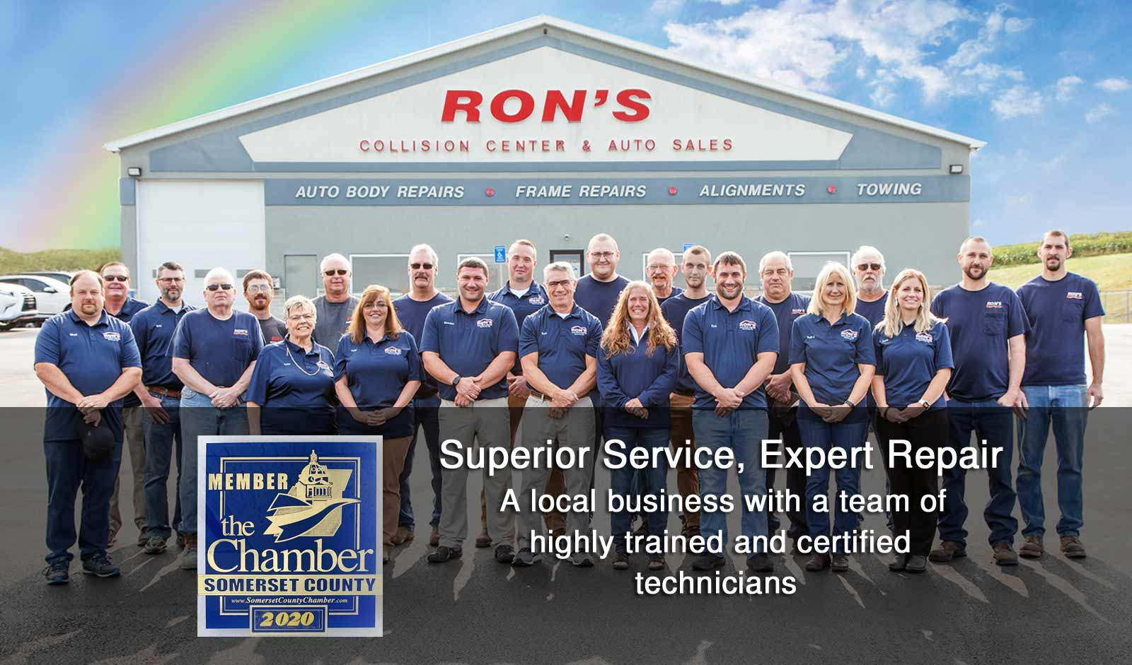 Ron's Collision Center Staff